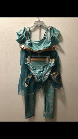 Disney Princess Jasmine from Aladdin Girls 3 Piece Swim Suit