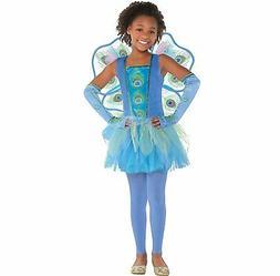 Amscan Princess Peacock Halloween Costume for Girls, Large,