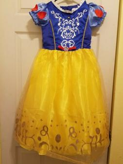 Princess Snow White Costume Party Long Gown Dress Up for Lit