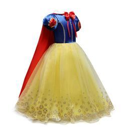 princess snow white dress up kids dresses