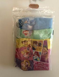 DISNEY PRINCESSES Girls Underwear Briefs 5 Pairs 100% Cotton