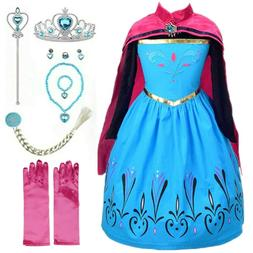 Queen Princess Coronation costume Party Dress up set For Kid