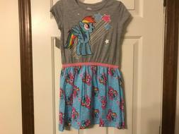 Rainbow Dash My Little Pony dress size 7/8