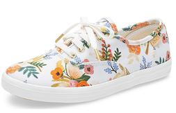 Keds Rifle paper co. Champion lively white Sz. 2 Girls