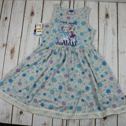 Disney's Frozen Snowflake-Print Dress Girl Size 6x