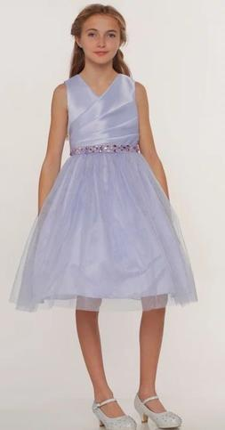 Short Flower Girl Dress Tulle Skirt Little Girls Special Occ