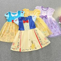 Snow White Toddler Baby Girl Princess Halloween Party Tulle