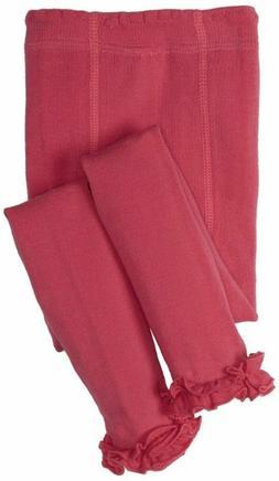 Jefferies Socks Baby Girls' Ruffle Footless Tights Hot Pink