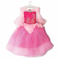 Disney Store Authentic Aurora Princess Dress Costume Girls S