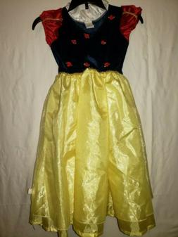 Disney Store Snow White Dress Size 3 to 5 new no tags perfec