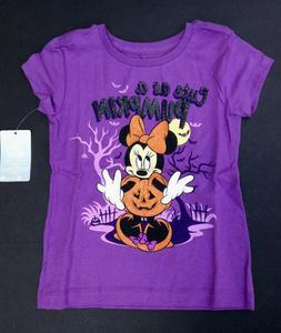 DISNEY Store TEE for Girls HALLOWEEN MINNIE MOUSE T Shirt PU