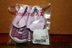 """American Girl STRIPED High Top TENNIS Shoes for 18"""" Dolls  N"""