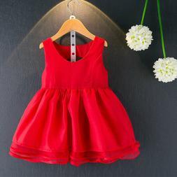 Summer Children Dress Baby Girl Clothes Dresses Princess Kid