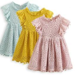 Summer Tassel Baby Girl Clothing Princess Girls Clothes Kids