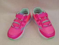 """Saucony """"SY-B Baby Freedom ISO"""" Little Girls Sneakers, Pink"""