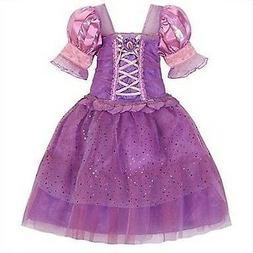 Disney Store Tangled Rapunzel Costume Dress Up Pink Princess