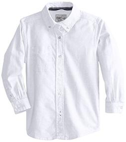 The Children's Place Baby Boys' Dress Shirt, White, 18-24 Mo