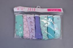 The Children's Place Girl's 7 Pack Mermaid Briefs SV3 Multic