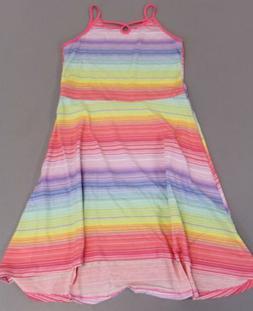 The Children's Place Girl's Sleeveless Rainbow Dress KB8 Mul
