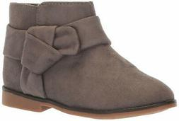 The Children's Place Girls' Bootie Fashion Boot, Grey, TDDLR