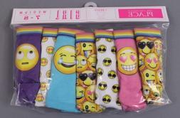 The Children's Place Girls Emoji Print Brief Underwear 7 Pk