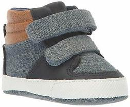 The Children's Place Girls' High Top Sneaker, Denim Youth 2
