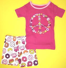 The Children's Place Little Girls  Size 3 Pink Frizz  2 Pc S