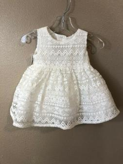 The Children's Place NWT Infant Girl Lace Sleeveless Dress &