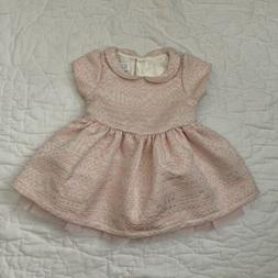 The Children's Place Baby Girl Pink Party Formal Dress Siz