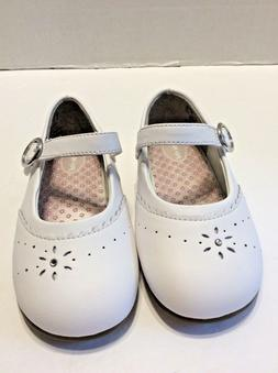 Stride Rite Toddler Baby Girl's Camilla Mary Jane White Leat