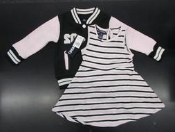 Toddler Girls Limited Too $42 2pc Letter Jacket & Dress Set