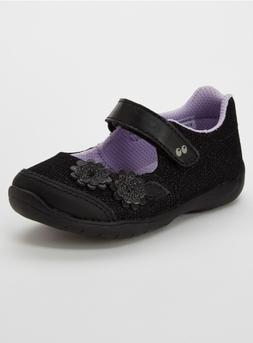 *Stride Rite Toddler Girls' Katelyn Mary Jane Floral Dress S