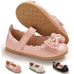 Toddler Little Girls Dress Shoes Ballet Sparkle Wedding Part