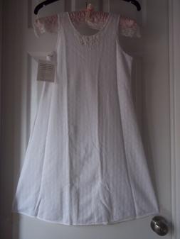 Very fine a la mode girl child girl's slip / dress  NWT very