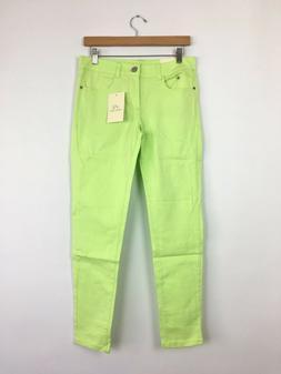 APRIL GIRL Women's Vintage Mid Rise Ankle Skinny Jeans Pants