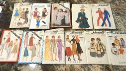 Your Choice Of Vintage Sewing Patterns 1980's And More All